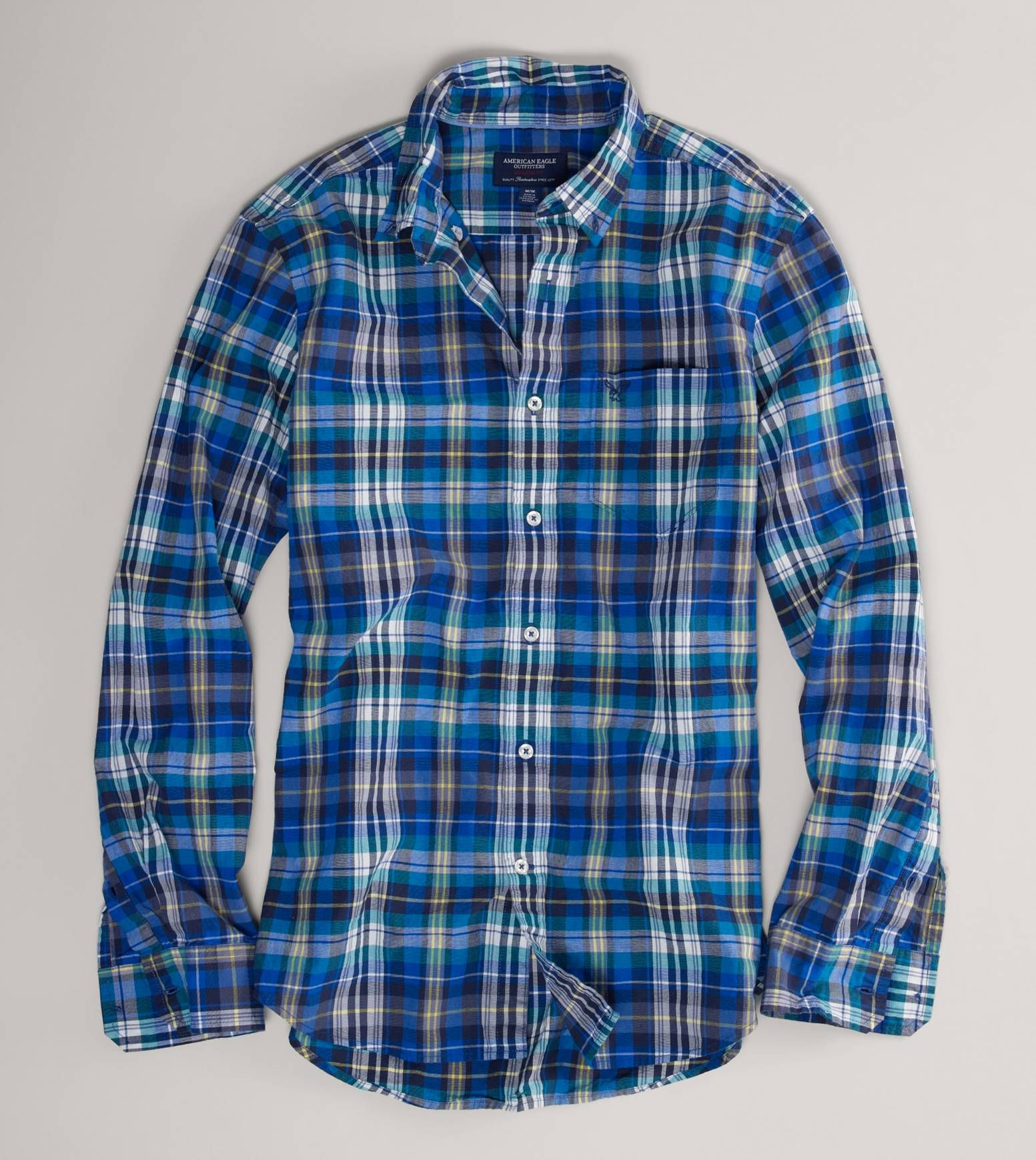 American Eagle men's flanel shirt