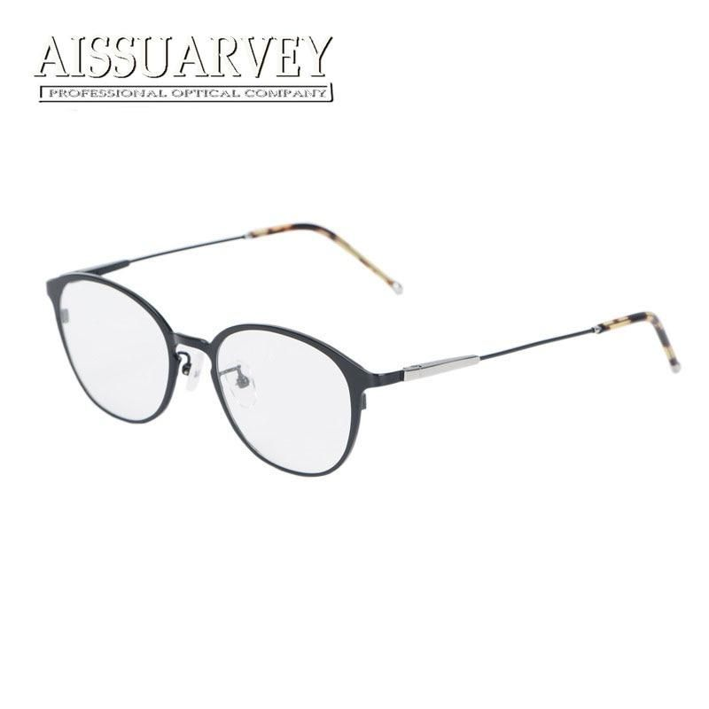 20f0383133 Titanium Glasses Frames for Men Women Eyewear Optical Eyeglasses Fashion  Brand Designer Prescription Round Circle Top Quality. Yesterday s price  US   37.99 ...
