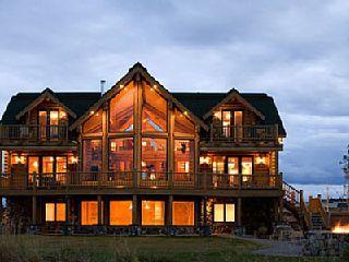 Pin By Maria Venzor On Vacation Rentals Log Home Floor Plans Log Cabin Floor Plans Cabin Floor Plans