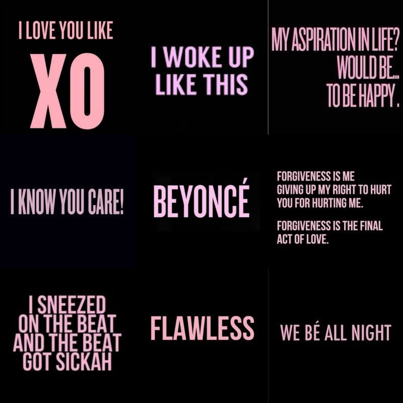 Lyrics Quotes About Love: -Beyonce- Lyrics From The Album BEYONCE Songs: Flawless