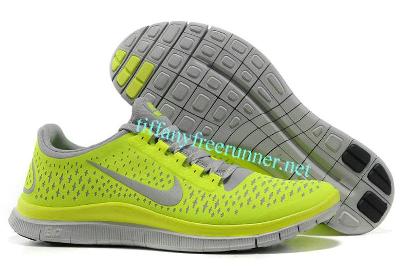 new product for whole family sold worldwide Mens Tiffany CO Necklace and Lime Green Lace Nike Free 3.0 V4 Wolf ...