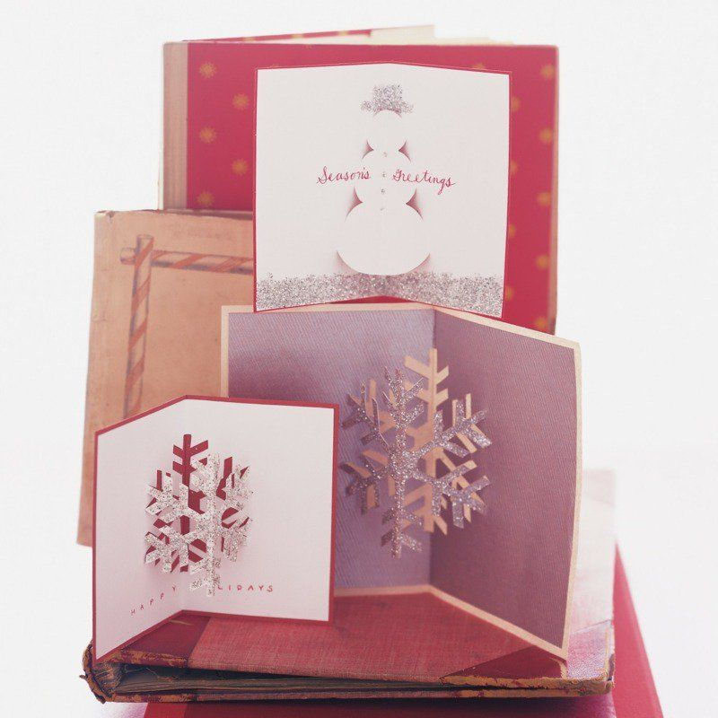 Carte De Vœux A Faire Soi Meme Diy Carte De Noel Originale En 55