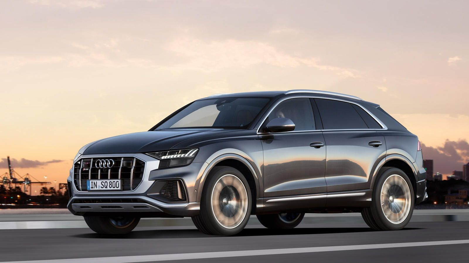 2020 Audi Sq8 First Look Review The Hot Middle Ground Stuffed Between The Q8 And Rs Q8 This New Sq8 Means Business In 2020 Audi Car Models Audi Suv