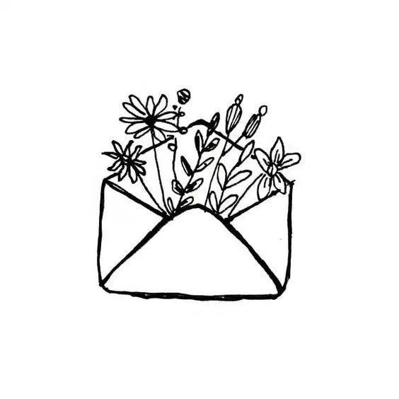 35 Cool Easy Whimsical Drawing Ideas Stregtegning Blomster Tegninger Tegning Skitser