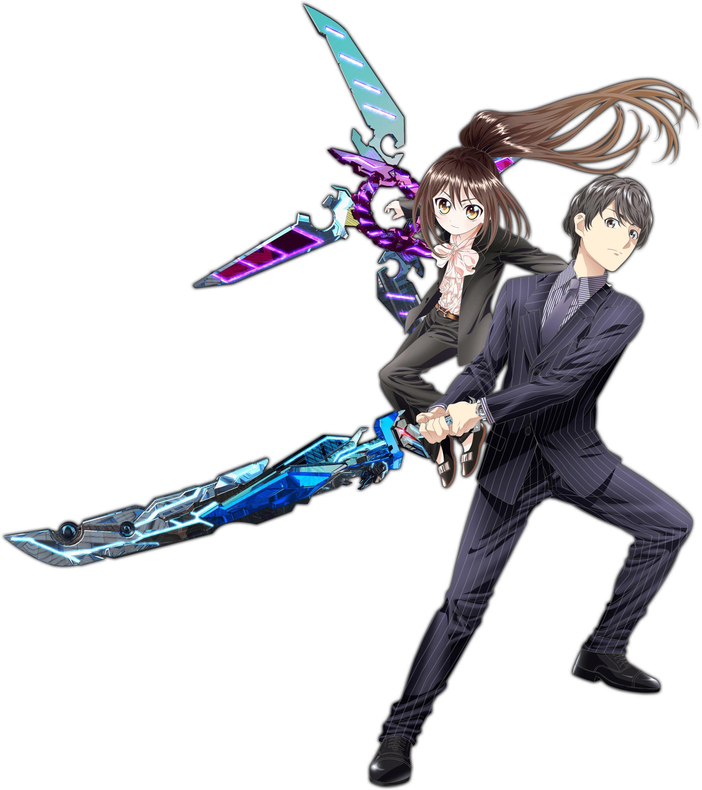 Hand Shakers/Chizuru and Hayate (Hand Shakers) Anime