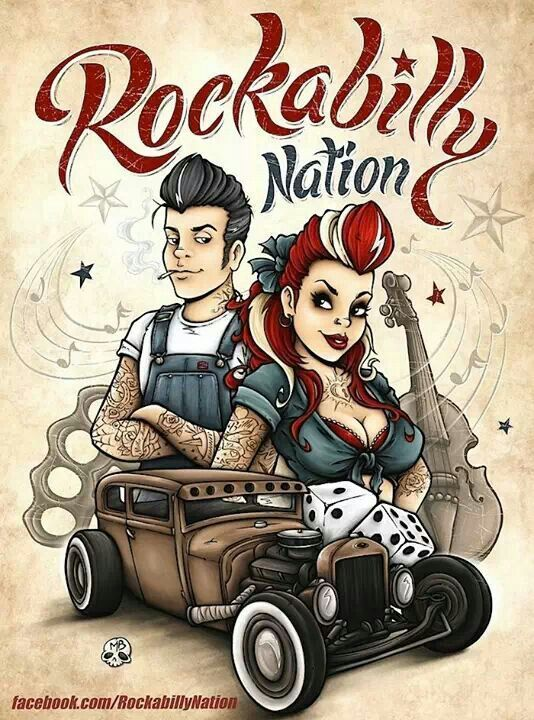 Pin By Rosaria Stevens On Art In 2019 Pinterest Rockabilly Art