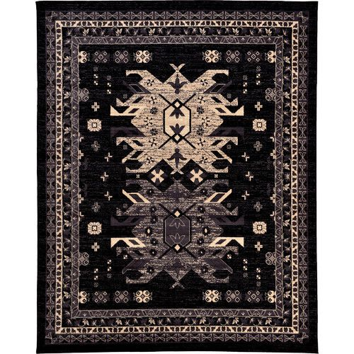 Mattea Southwestern Black Area Rug Black Area Rugs Unique Loom Area Rugs