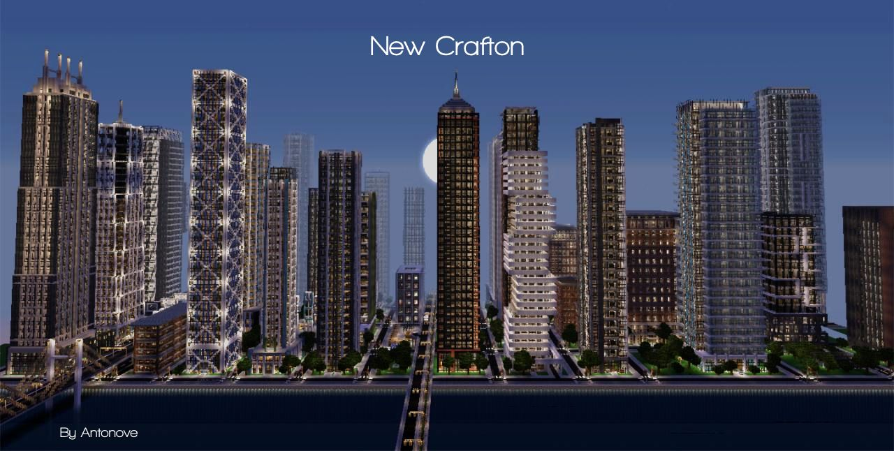 pictures of modern minecraft cities modern city finished 296