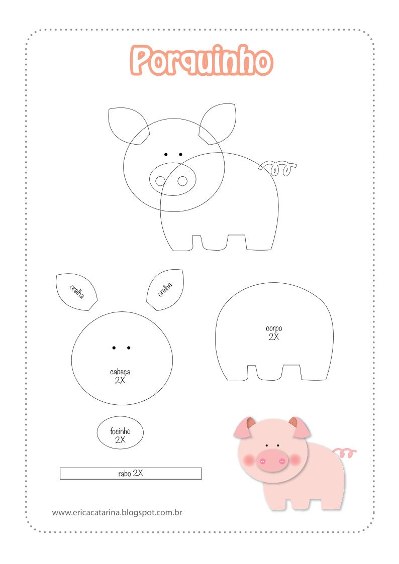 Filz Schwein | nähen | Pinterest | Schweinchen und Filz