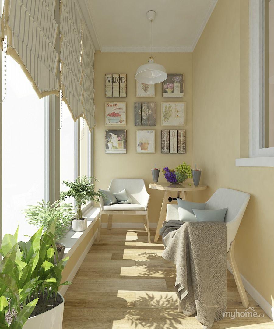 Лоджия в стиле прованс балконы / лоджии - balcony / loggia p.