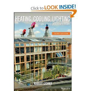 Heating Cooling Lighting Sustainable Design Methods For
