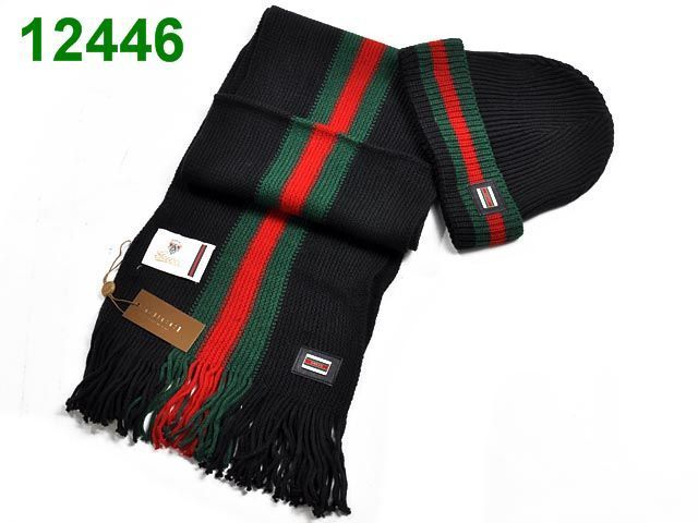 Replica Gucci Fashion Hats and Scarf Twinset 110102a9575