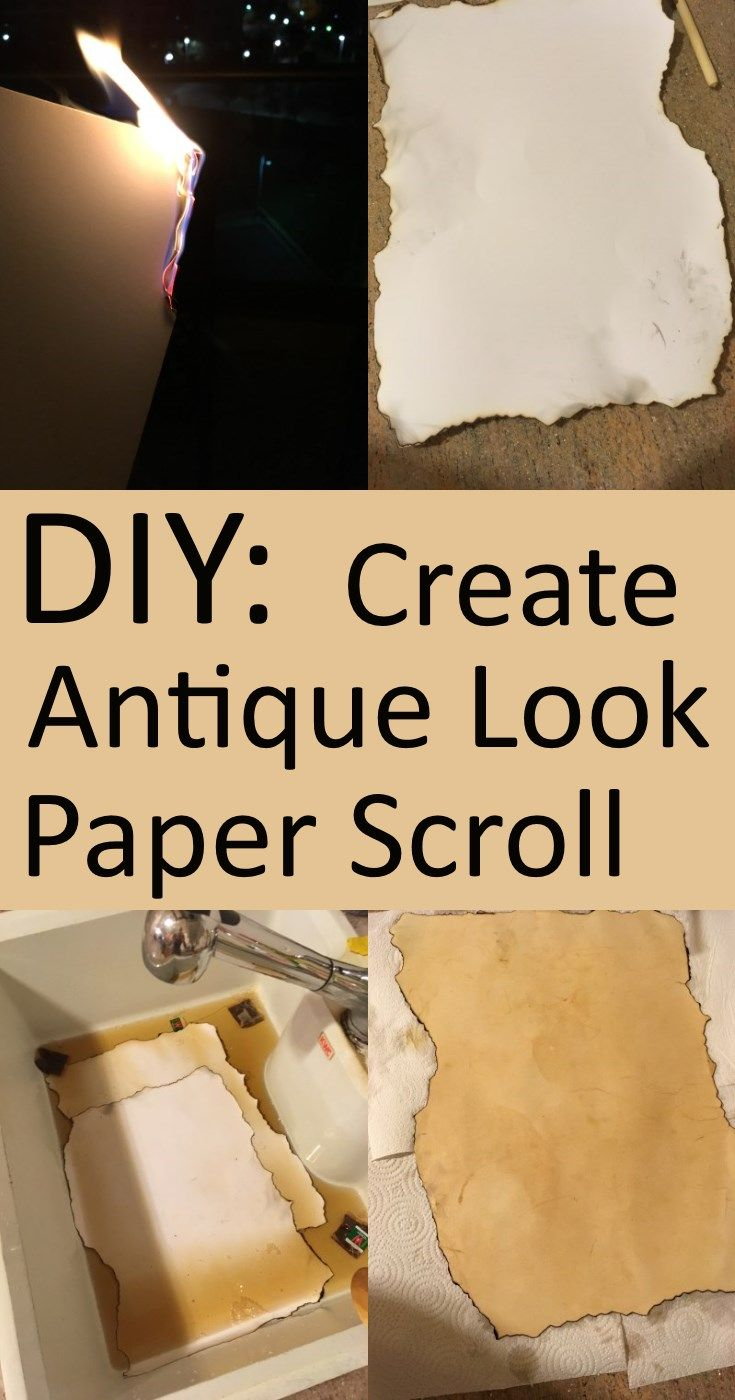 create your own treasure map diy how to make and old or antique