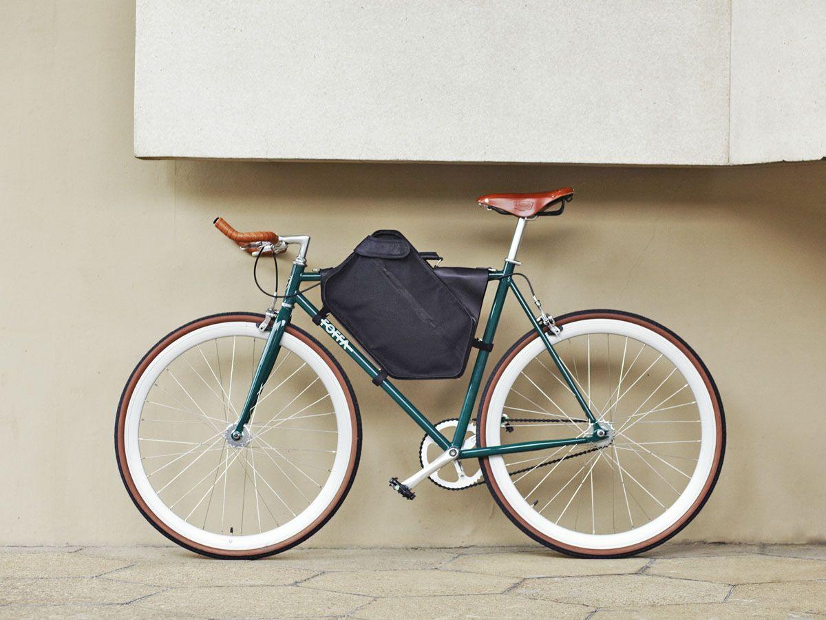 Foffa Leather Frame Bag Bici Fixie Fixie Bici