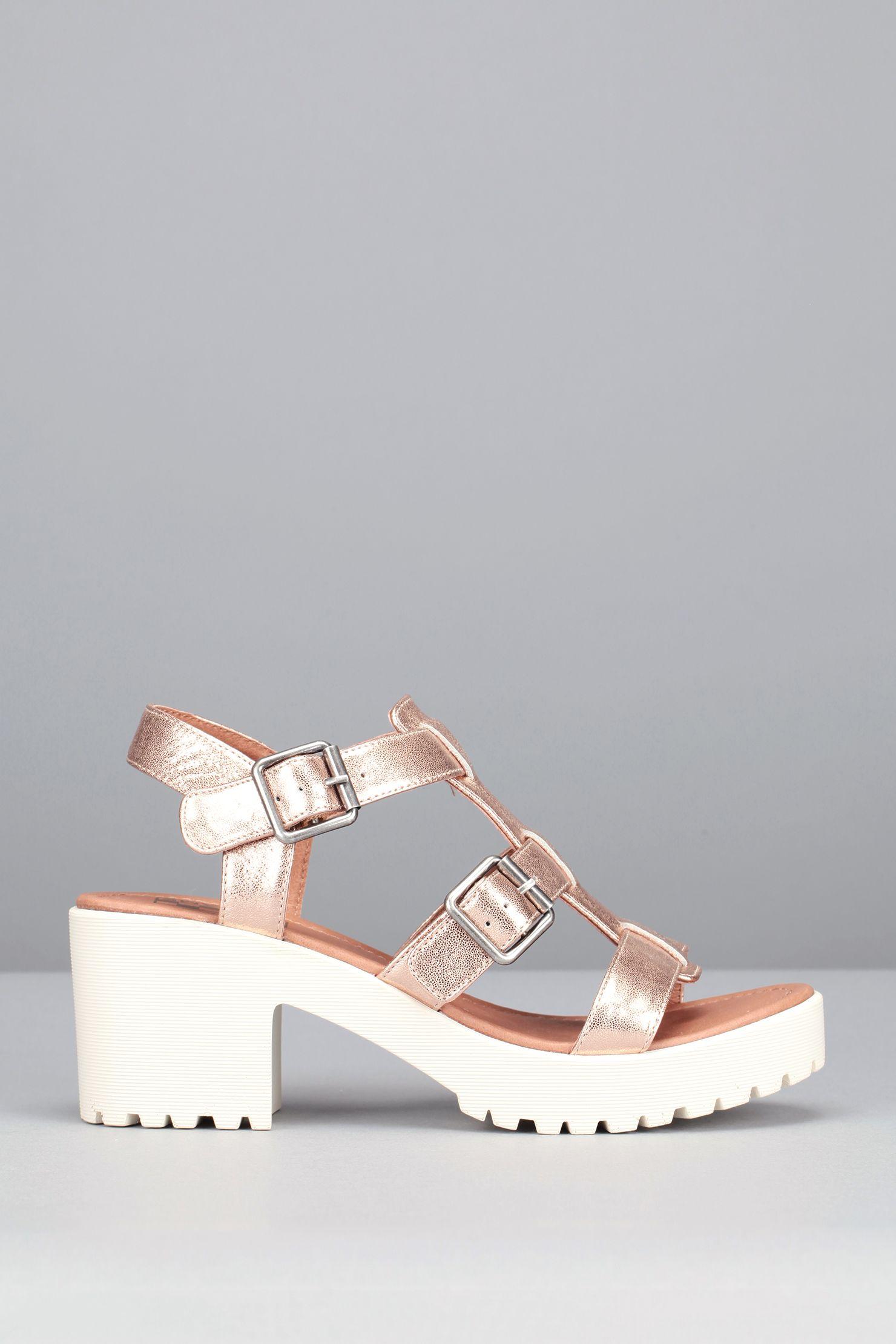 Sandales à talons cuir rose cuivré Tango
