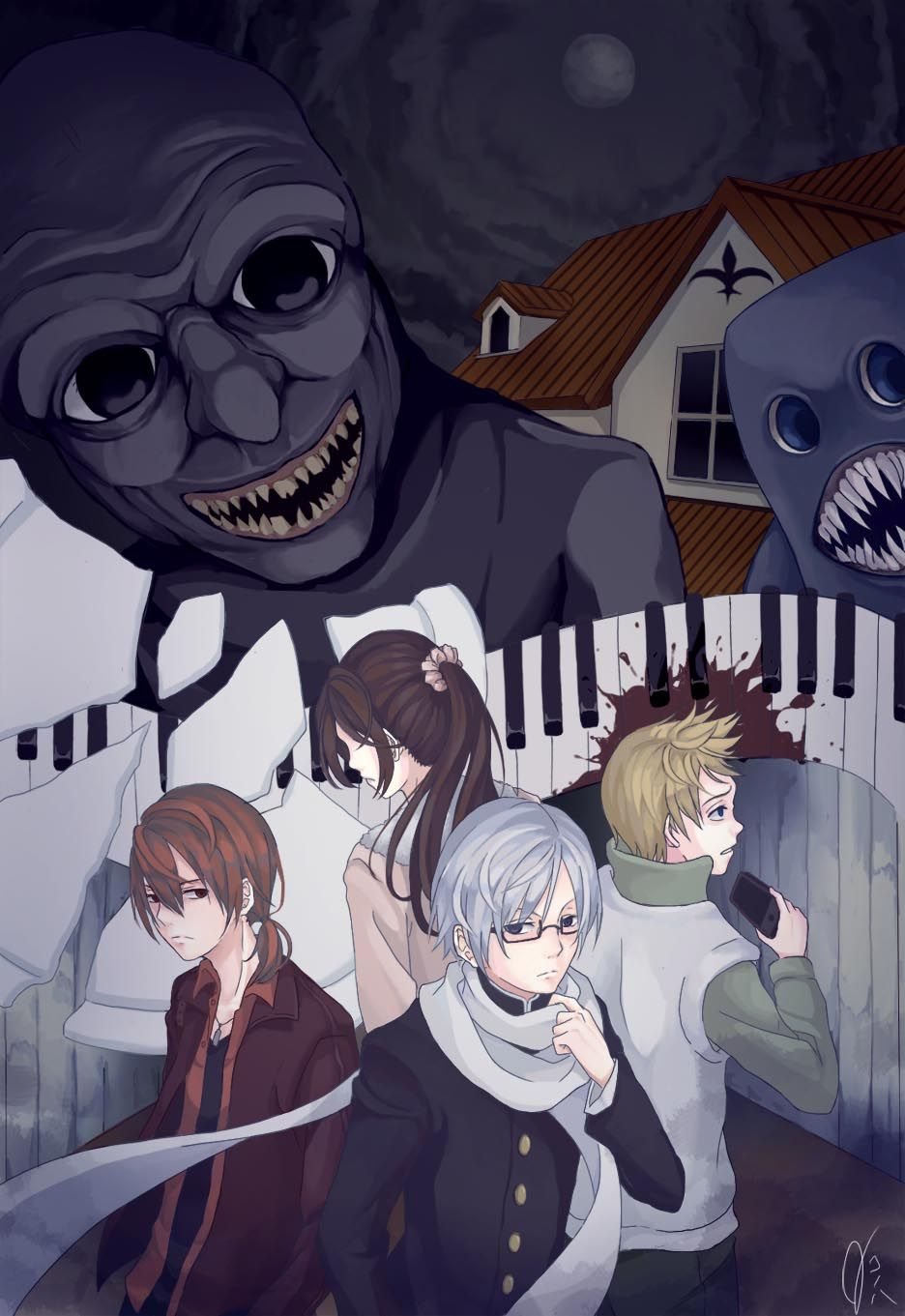 Ao Oni 2 0 Horror Video Games Indie Horror Creepy Games