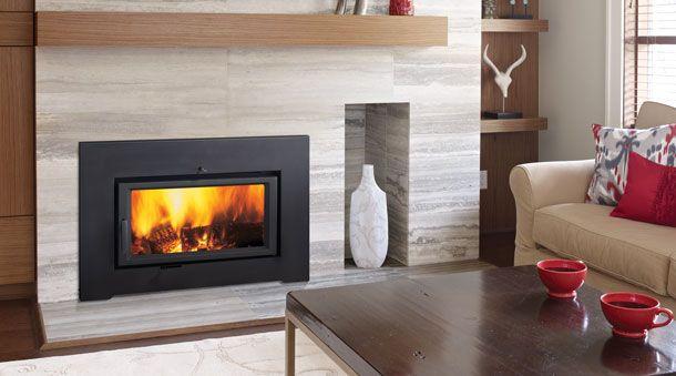 Ci2600 Large Hybrid Catalytic Wood Insert Wood Fireplace Inserts