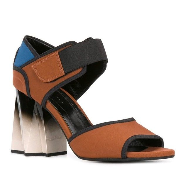 Marni Leather Colorblock Sandals outlet low cost trdEPwViVC