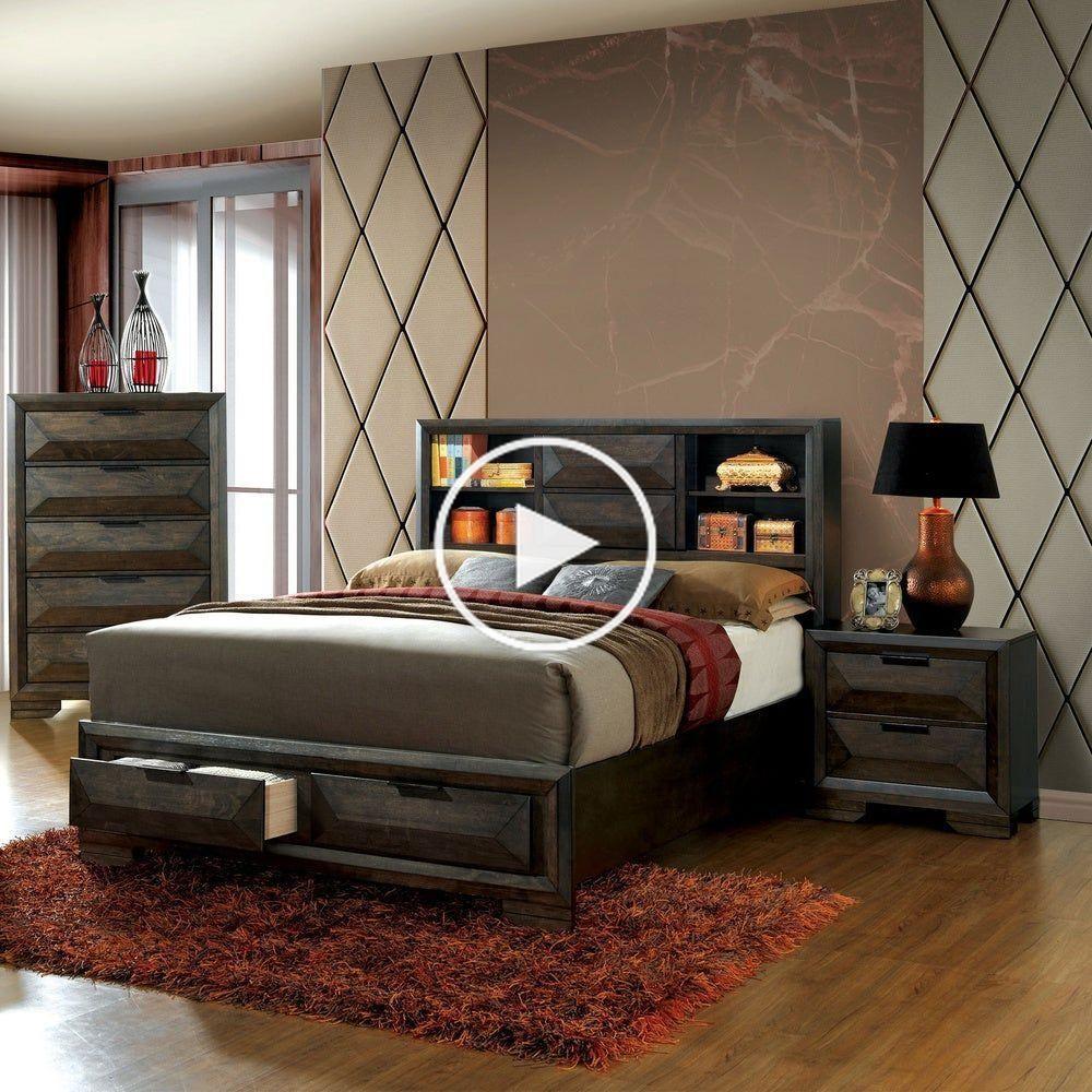 möbel Furniture of America Stayven Contemporary 3piece