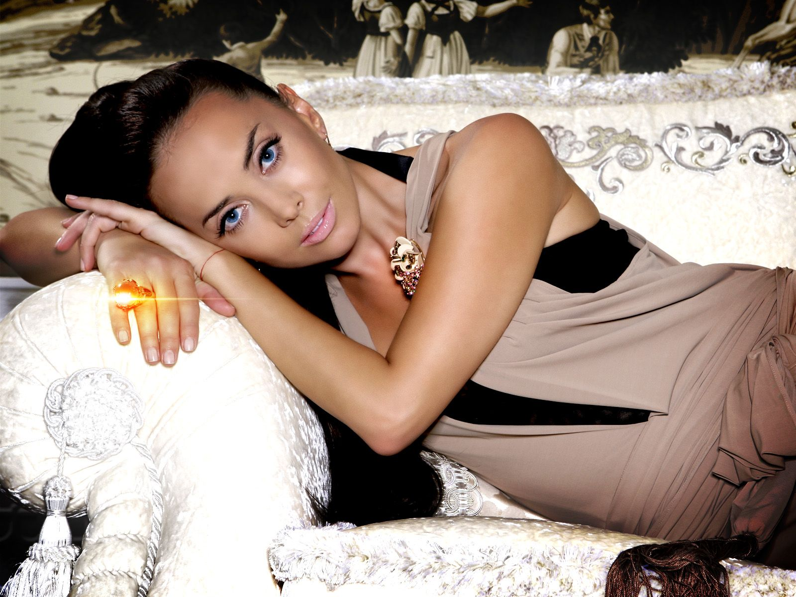 Zhanna Friske had a twin brother
