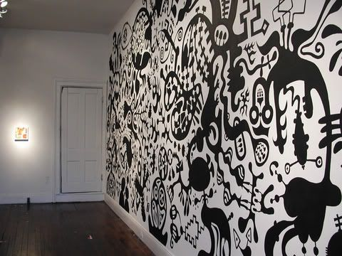 rick mallette: wall drawings | home accessories | pinterest