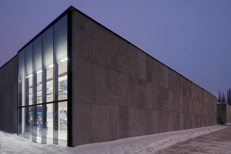 Architectural bureau wall · vdnh pavilion facades