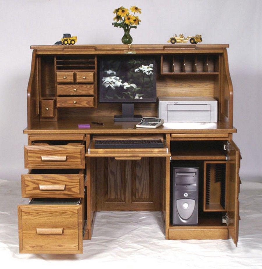 Computer desk google search carpinteria y tallas Escritorios rusticos para oficina