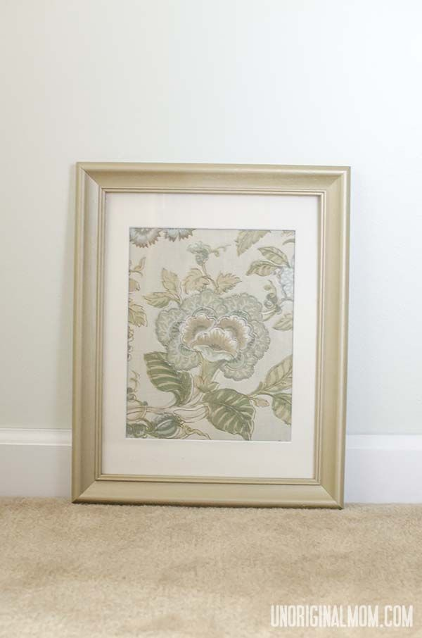 Napkin Wall Art | Inexpensive wall art, Cloth napkins and Diy art