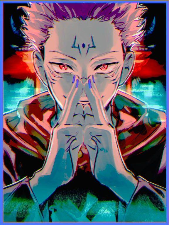 I Love Sukuna And His Design Jujutsukaisen Anime Jujutsu Anime Wallpaper