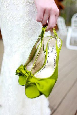 Bethany and Guillermo   Green weddings, Wedding shoes and Green shoes