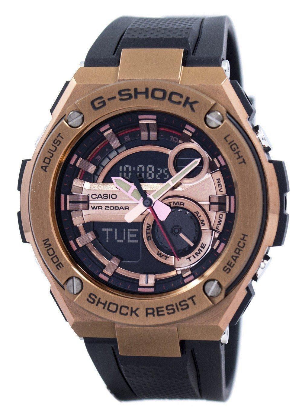 07972c1068eb Casio G-shock G-steel Analog Digital World Time Gst-210b-4a Men s Watch  (FREE Shipping)