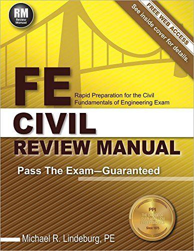 Fe Civil Review Manual Engineering Exam Price Book Download Books