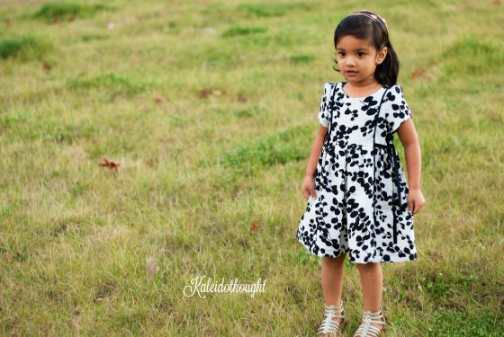 Saumur Dress – Pattern Test for Lil Luxe Collection | Kaleidothought