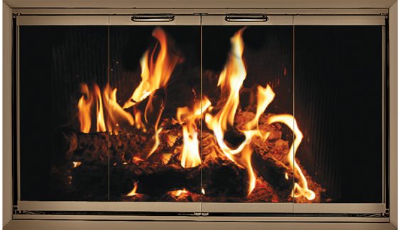 Z Door For Lennox Fireplaces Lennox Fireplace Doors Pinterest