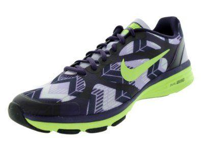 Amazon.com: Nike Women's Dual Fusion TR Print Training Shoe: Shoes