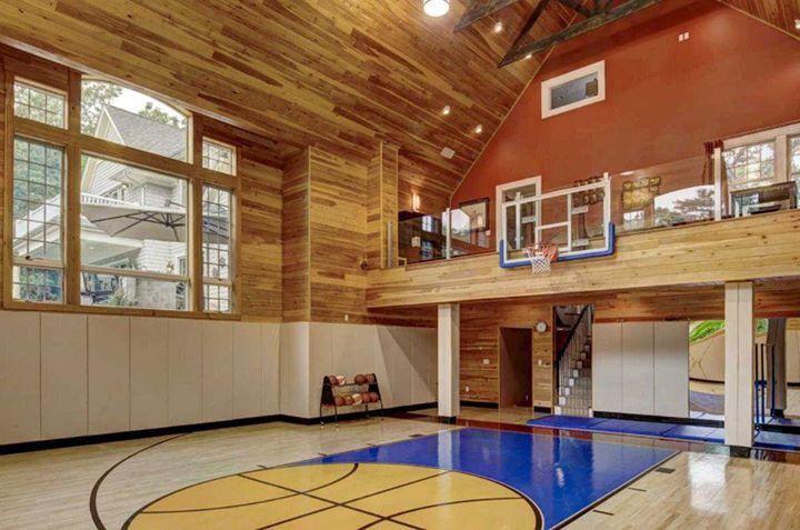 Indoor basketball court when i hit the mega in 2019 - Indoor basketball hoop for bedroom ...