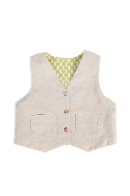 Vest Pattern, Reversible Waistcoat PDF Sewing Pattern, Baby, Boy ...