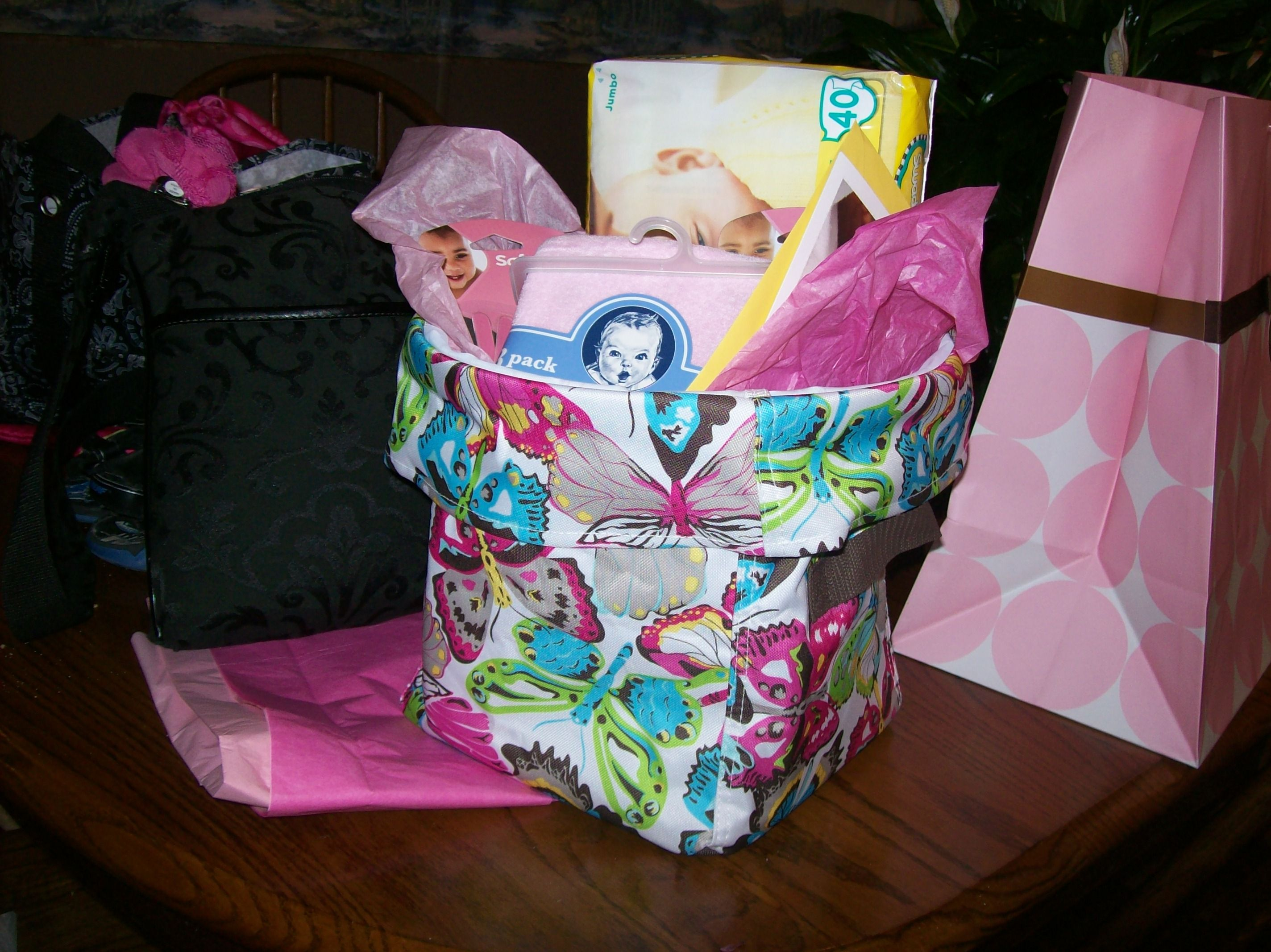 The Mini Utility Bin makes a great baby shower gift