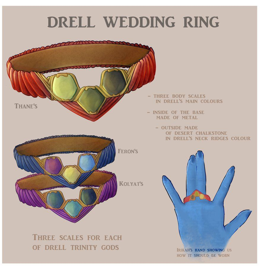 one ring to drell them all by myks0 on DeviantArt