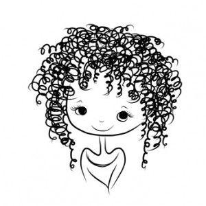 femme cheveux frisé Recherche Google dessins divers