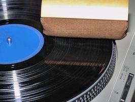 ¿Cómo construir una repisa para almacenar discos LP?