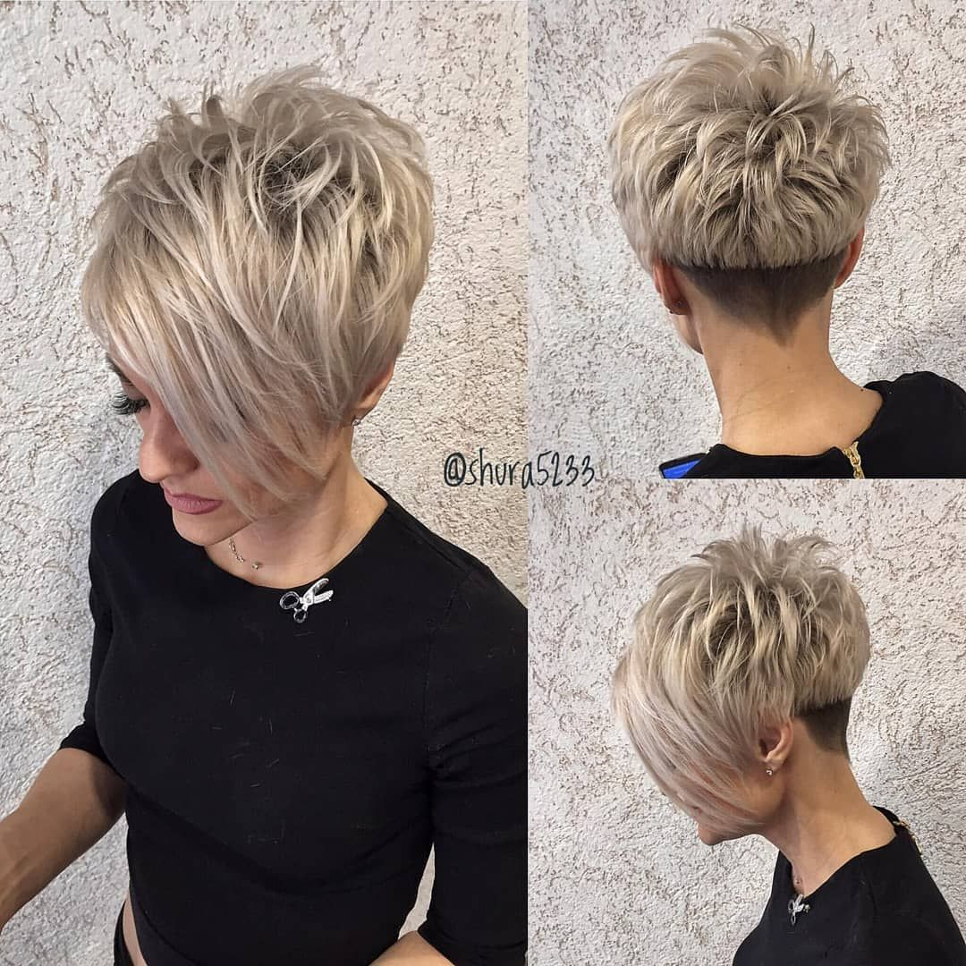 10 Short Hairstyles for Thick Hair - Amazing Color