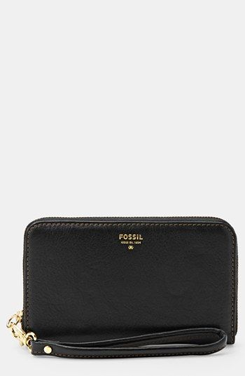 Fossil 'Sydney' Zip Phone Wallet available at #Nordstrom ( amazon or eBay has it cheaper