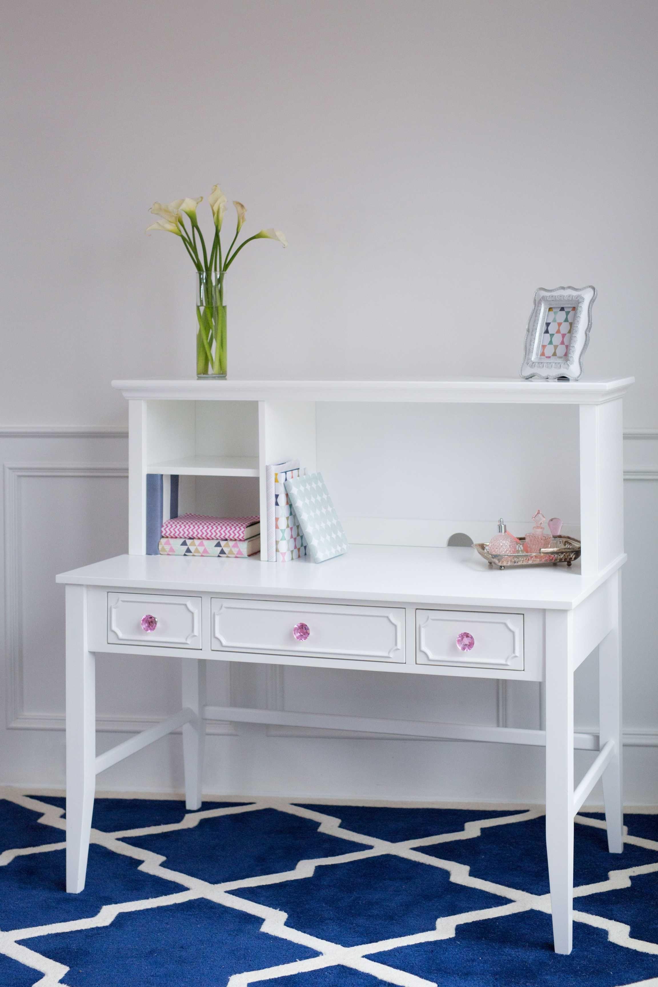 White Desk With Hutch New Release White Desk With Hutch New