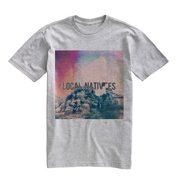 Local Natives Tee Shirt TShirt Unisex Gray Size by iStyleiStore, $14.99