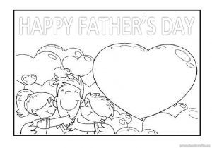 Happy Father\'s Day Coloring Pages for Kids - Preschool and ...