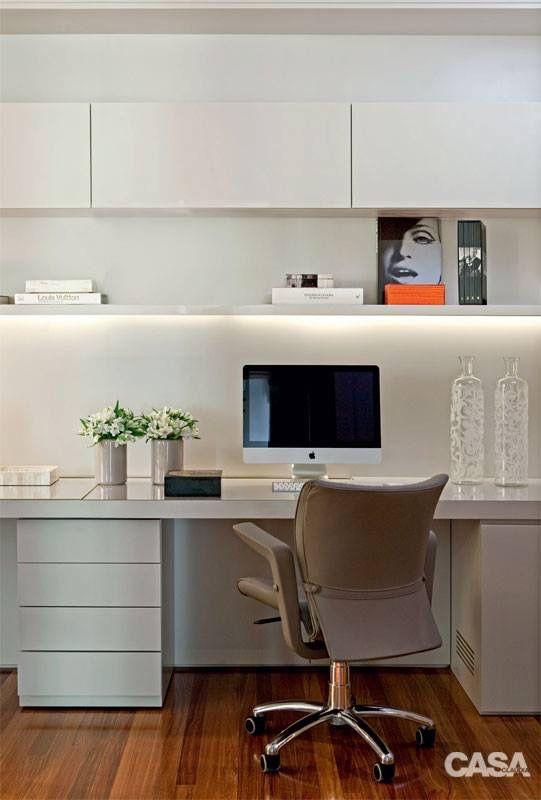 escrit rio home office ideas pinterest buero arbeitszimmer und b ro ideen. Black Bedroom Furniture Sets. Home Design Ideas