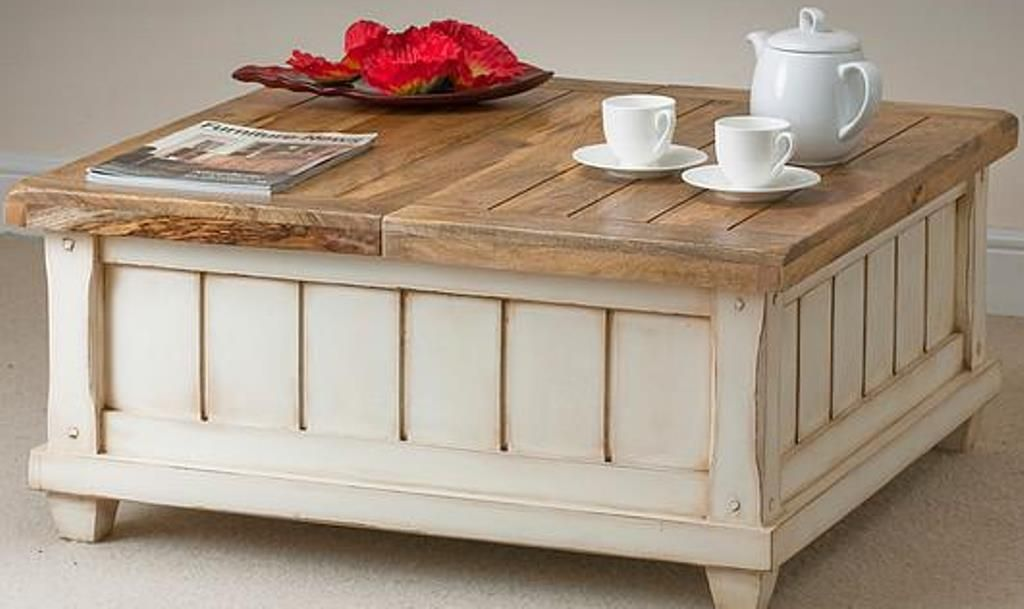 Unique Diy Coffee Table Ideas That Offer Ceative Style And Storage