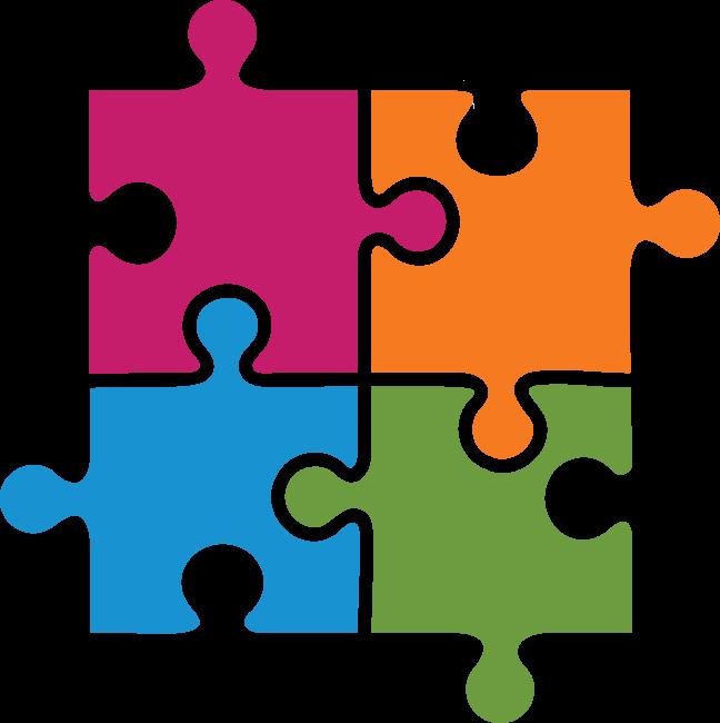 713 Puzzle Pieces Public Domain Clip Art Puzzle Pieces Puzzle Piece Template