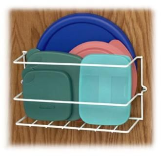 Epoxy Coated Wire Plastic Lid Holder